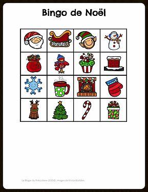 Les 25 meilleures id es de la cat gorie bingo de no l sur pinterest jeu de bingo de no l - Grille de bingo a imprimer gratuit ...
