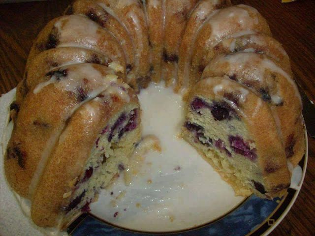 Blueberry Pound Cake – 1K Recipes!