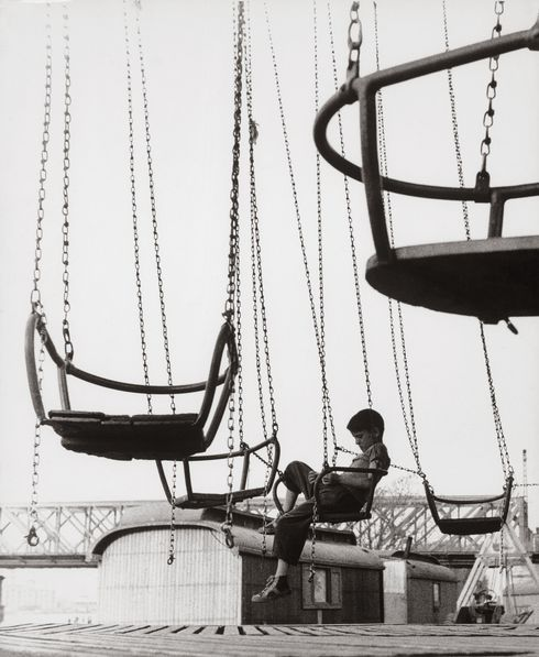 Ján Cifra: 1. máj v Petržalke, 1957, Bratislava, SNG