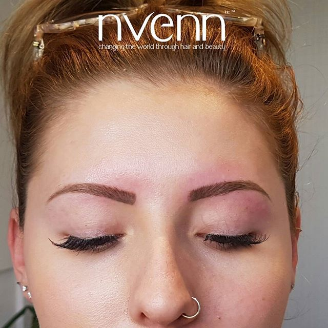eyebrow tattoos can save you a TON of time in the morning and take your #browgame to the next level ---> https://goo.gl/HWYb6d    #nvennhairbeautybar #eyebrowtattoos #permenantmakeup #mua #yycmua #yegmua #stylists