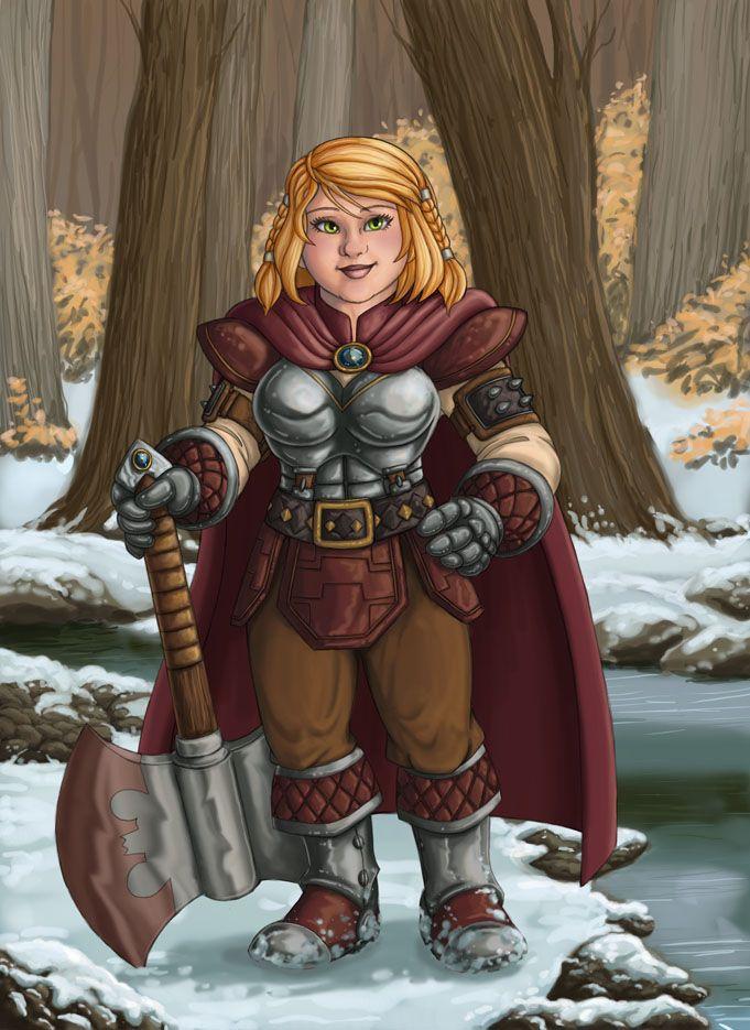 Dwarf Girls Aren't Easy!