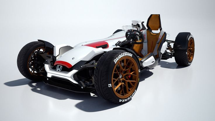 2015 Honda Project 2&4 Concept  http://www.wsupercars.com/honda-2015-project-2and4-concept.php