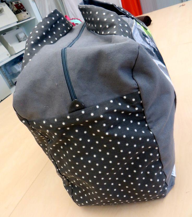 tutoriel couture sac de voyage