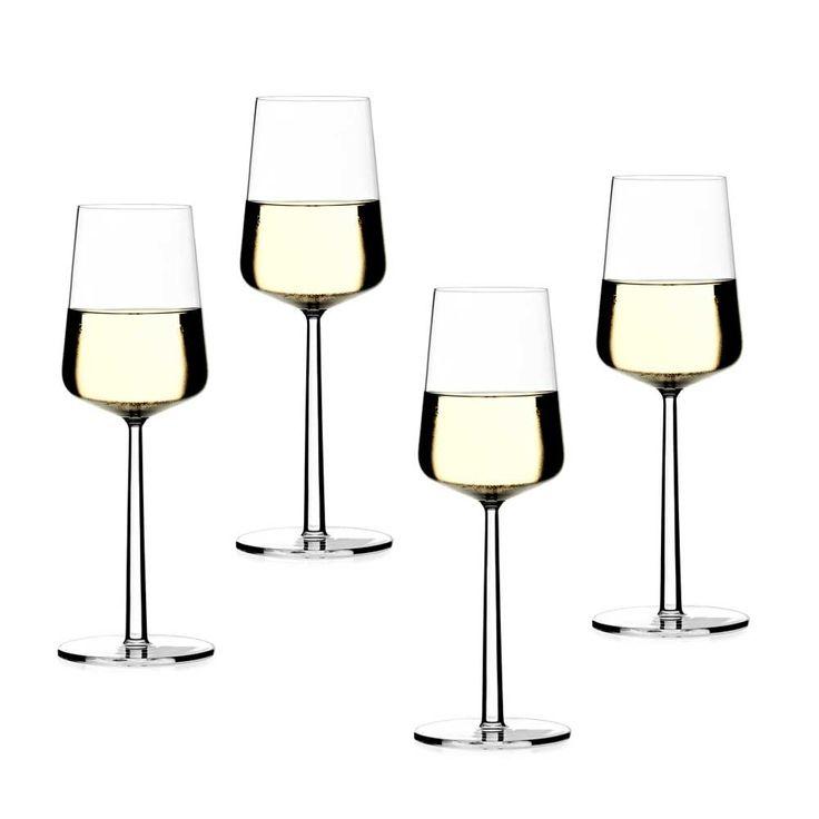 Essence White Wine Glass Set of 4 - Alfredo Häberli - Iittala - RoyalDesign.com