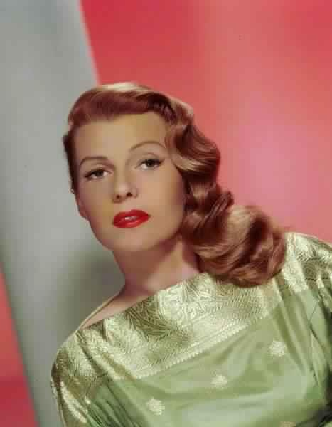 Rita Hayworth - Did you know? Some legends say the Margarita cocktail was named for her when she was dancing under her real name in a Tijuana, Mexico nightclub.