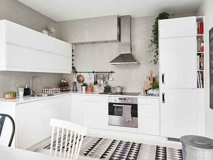 kitchen-grey-concrete-wall