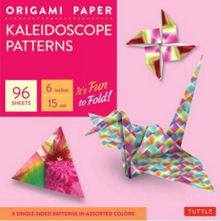 Origami Paper - Kaleidoscope Patterns: 6 inches / 15 cm