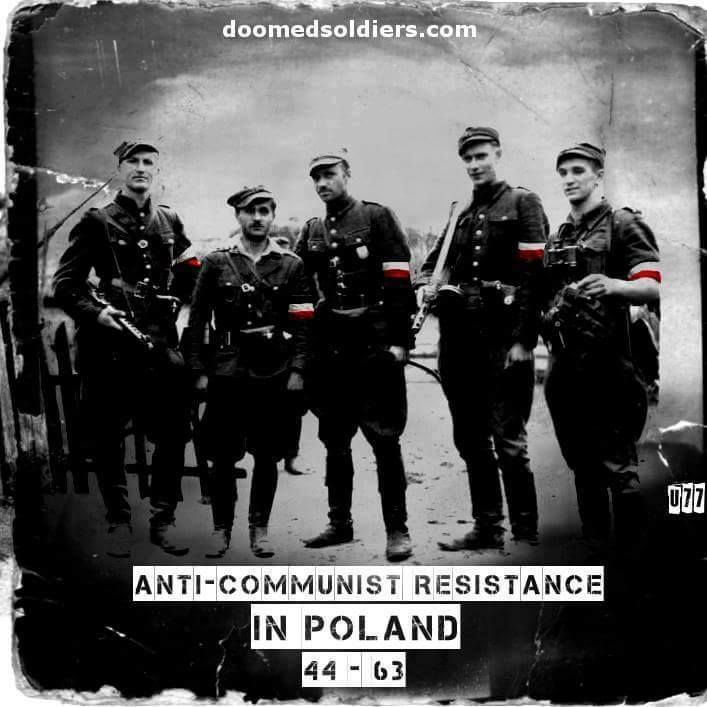 Żołnierze wyklęci. 'The Cursed Soldiers'/'The Doomed Soldiers'//Polish resistance.