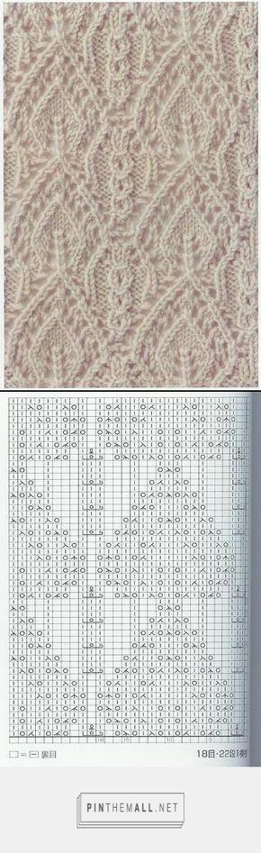 Lace knitting pattern Nr 65