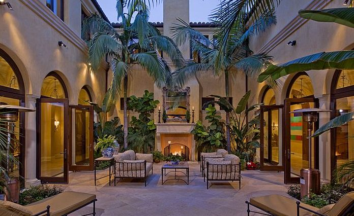 Image detail for -... Hacienda Estate In The Brentwood Area of Los Angeles, CA « Homes of