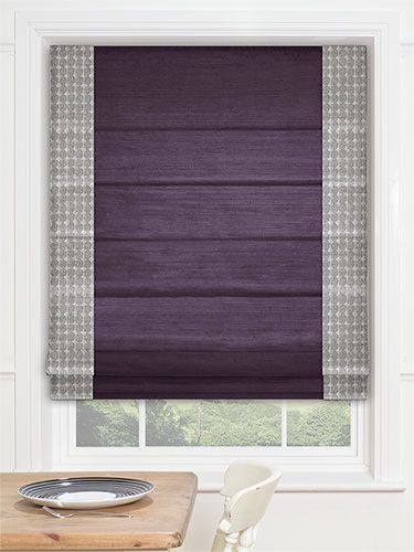 Laundry Room - Divinity Ombre Roman Blind from Blinds 2go