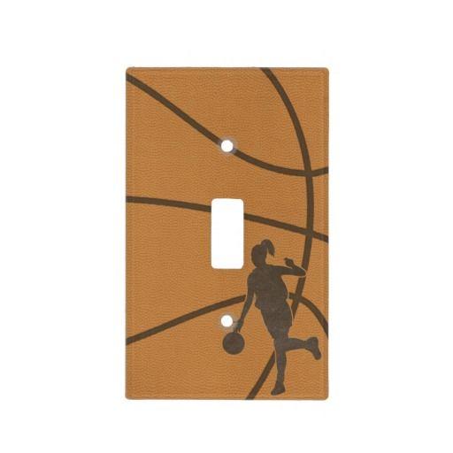 Basketball Girl Schalterabdeckung | Zazzle   – Basketball
