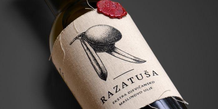 label - Razatusa Olive Oil