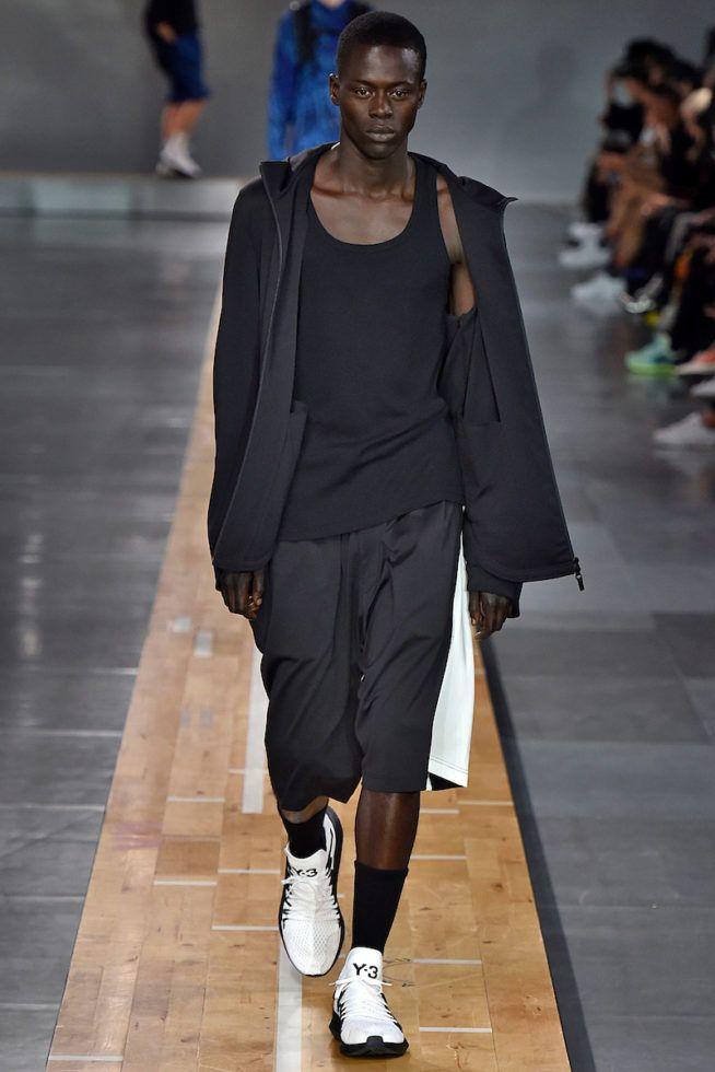 Y3 Paris Menswear Spring Summer 2018 Paris June 2017- foto: Agencia Fotosite