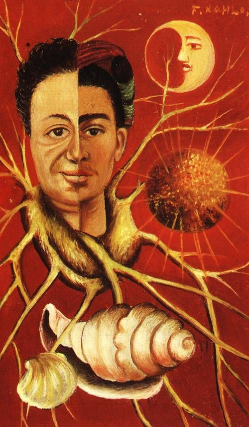 Diego and Frida, by Frida Kahlo 1944