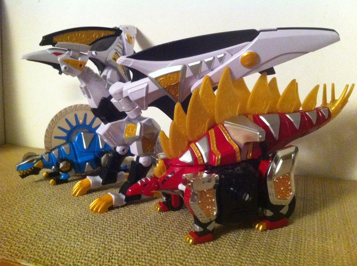 Power Rangers Dino Thunder Toys