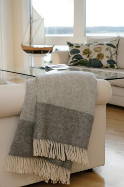 My favourite — and extremely warm — blanket from Toarp Säteri.