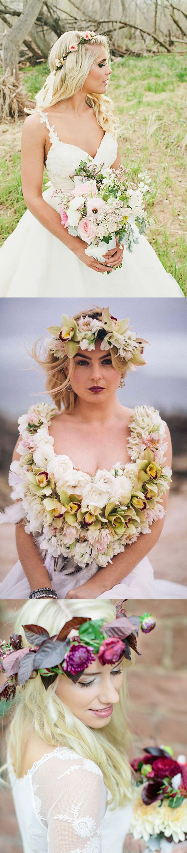 37 Beautiful Wedding Hairstyles With Flowers for Brides & Bridesmaids for your special day like Wedding & bachelorette Parties or Weddign Reception. We have handpicked some of the best Styles like Half Up, Half down, For Long, Medium Length or Short Hair, Curls & Long Curly, Updo, Viel, Head Bands, Floral Crowns / crown, Low Buns, Bridal Headpieces & Fascinators, Tiaras etc. They are Vintage, Simple yet fun & perfect for both Bride, Bridesmaid & even for Mother of Bride.