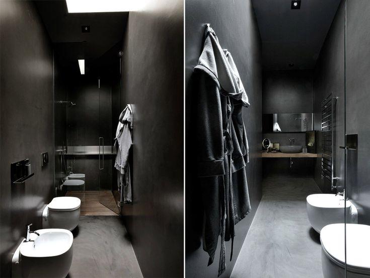 oltre 25 fantastiche idee su bagno stretto su pinterest | bagno ... - Soluzioni Bagni Moderni