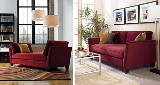 Ideas For Maroon Sofa Home Decor Living Room Decor