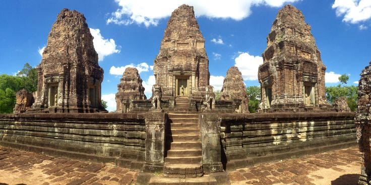 Angkor Wat- East Mebon Temple Cambodia - For more on Angkor Wat travel check out http://ajourneyintotheunknown.com/angkor-wat-best-temples/