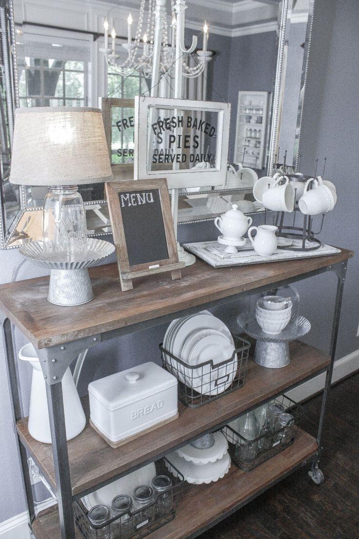 Tin bread box drawer insert - 4 Easy Farmhouse Style Tips