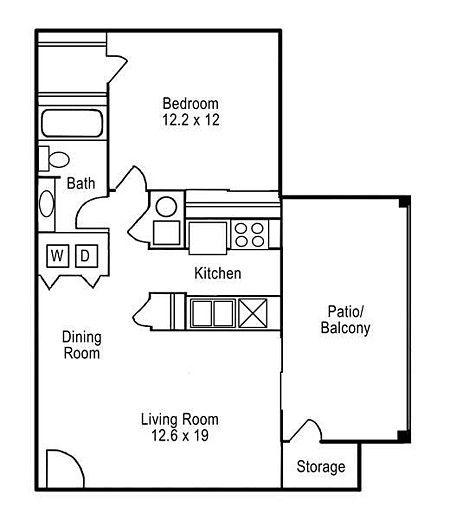 Floorplans - Aspen Lodge Apartments - Aspen Lodge - Overland Park - KS