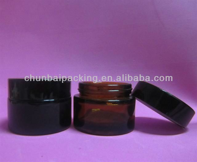 Amber Cosmetic Glass Jar Wholesale For Cream - Buy Cosmetic Glass Jar,Cosmetic Glass Jar,Glass Jars Wholesale Product on Alibaba.com