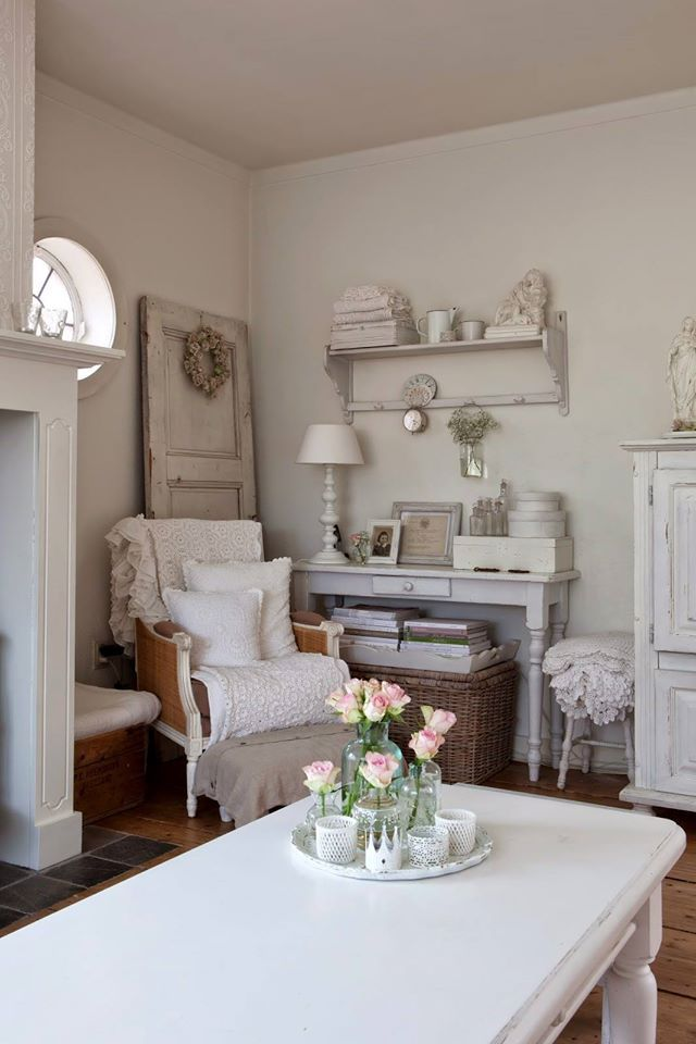 25 best ideas about shabby chic style on pinterest for Meuble cuisine shabby chic