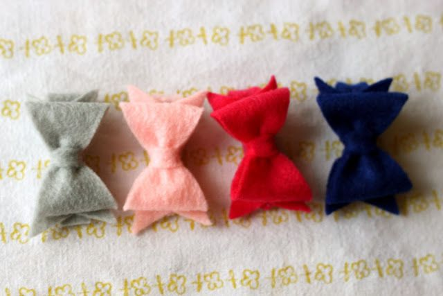 How to make hair bows that actually stay in your hair!