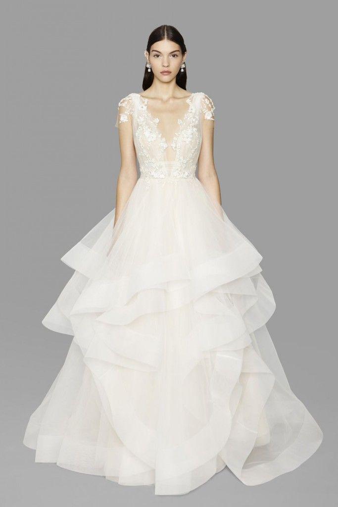 Robe de mariée 5 par Marchesa collection Bridal Couture 2017