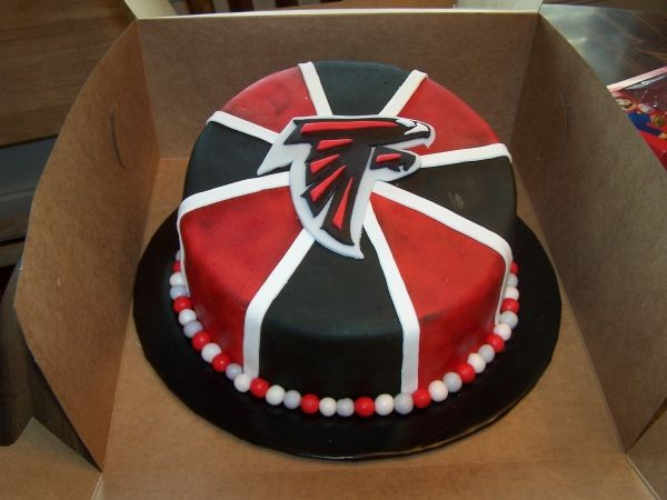 30 best Atlanta Falcons Cakes images on Pinterest Atlanta falcons