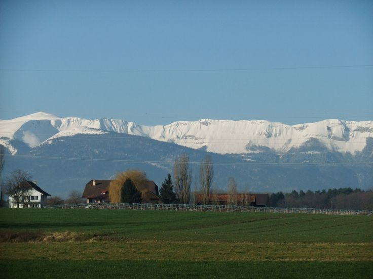 Outside Geneva, Switzerland