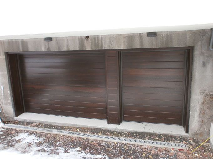 Modern Wood Garage Door Wood garage door � 291