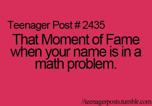 teenage post - Click image to find more Humor Pinterest pins