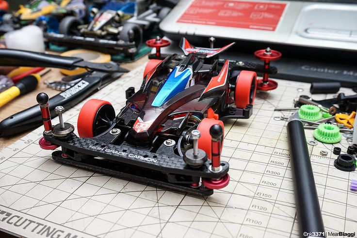 Closer look on the finished Stargek 10th Anniversary Avante Mk.III Nero. #Tamiya #mini4WD