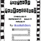 Tired of just using flash cards to help your students practice their algebraic properties?  Property Progression is a board game that helps student...