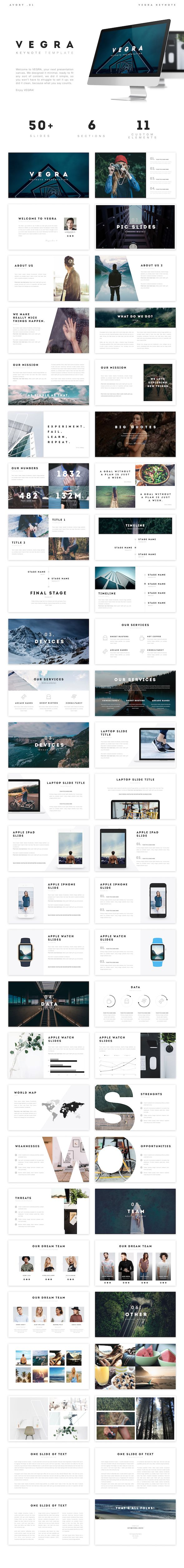 VEGRA - Keynote Template • Only available here ➝…                                                                                                                                                     More