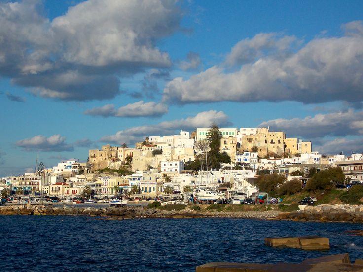 Chora, Naxos Island, Greece. photo by Ηλιασ
