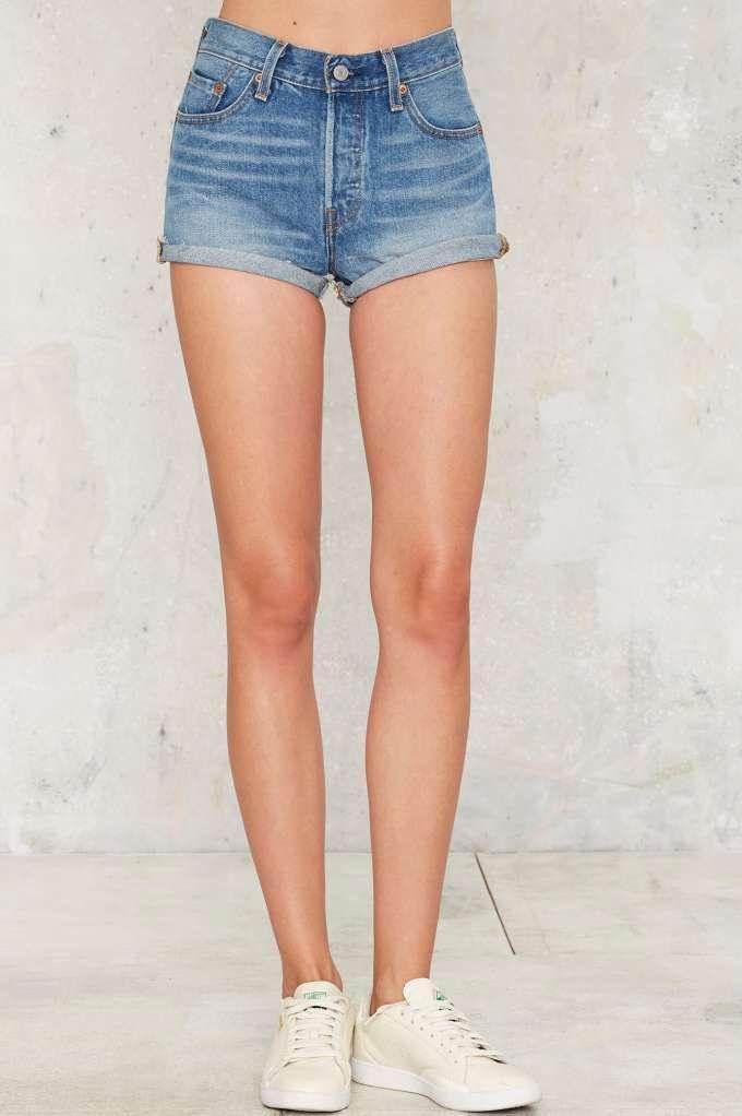 Levi's 501 Cutoff Shorts - Sierra Oasis - Best Sellers | Grunge Goddess | Shorts | Denim