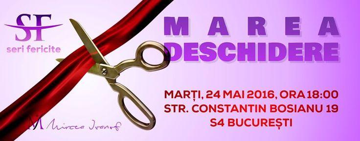 """Marți 24 Mai 2016, la Social TeaHouse, Strada Constantin Bosianu 19, va fi deschiderea seriei de evenimente ce se vor desfășura sub egida """"SERI FERICITE"""". Aceste evenimente au menirea de a crea o comunitate de oameni sănătoși, fericiți și frumoși care să aducă plus-valoare la nivel comunitar. Vino să te simți bine alături de noi! Te aștept cu drag :) http://bit.ly/1TpLfz0"""