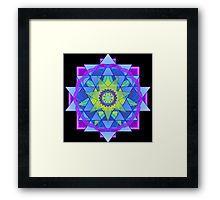 Inner Light Mandala  Framed Print