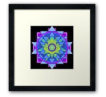 Inner Light Mandala  Framed Print