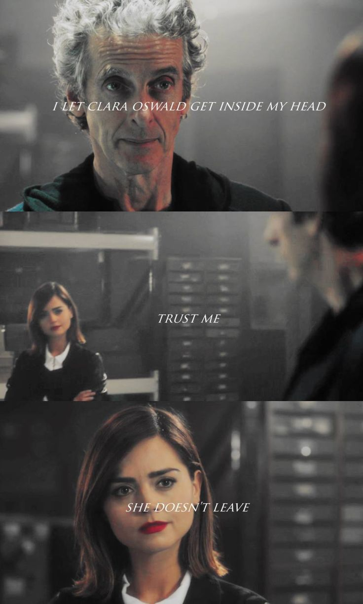 Same here, Doctor. I am so not ready for her to leave.