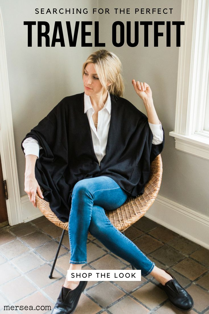 4a251418 Looking for the perfect women's travel outfit? The black cotton-cashmere  travel wrap is exquisitely soft with a self-finished edge.