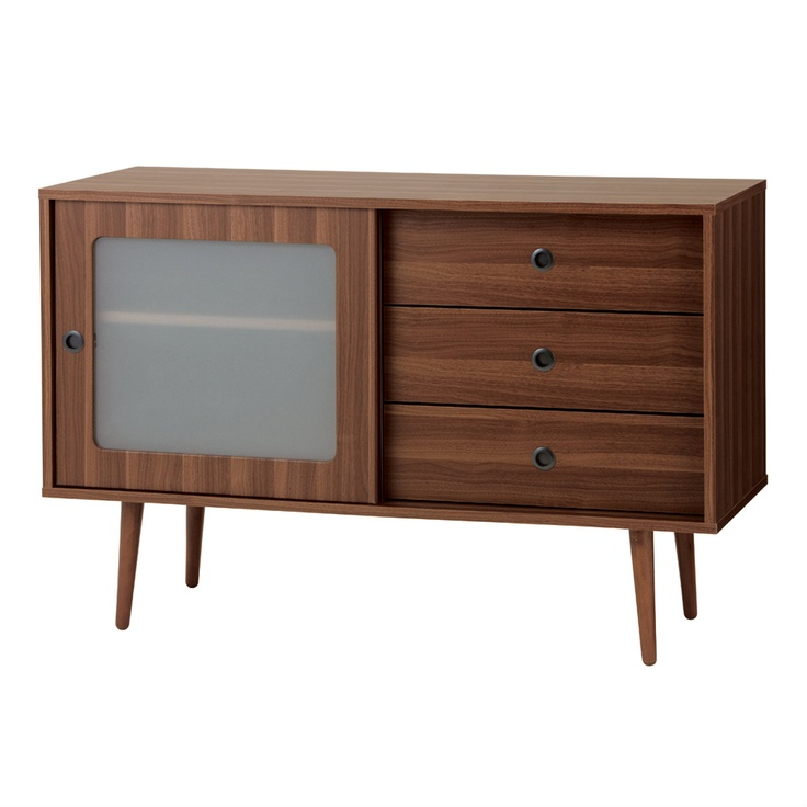 NOCE (ノーチェ) Sideboard.    I wonder if this could double as TV stand and chest?