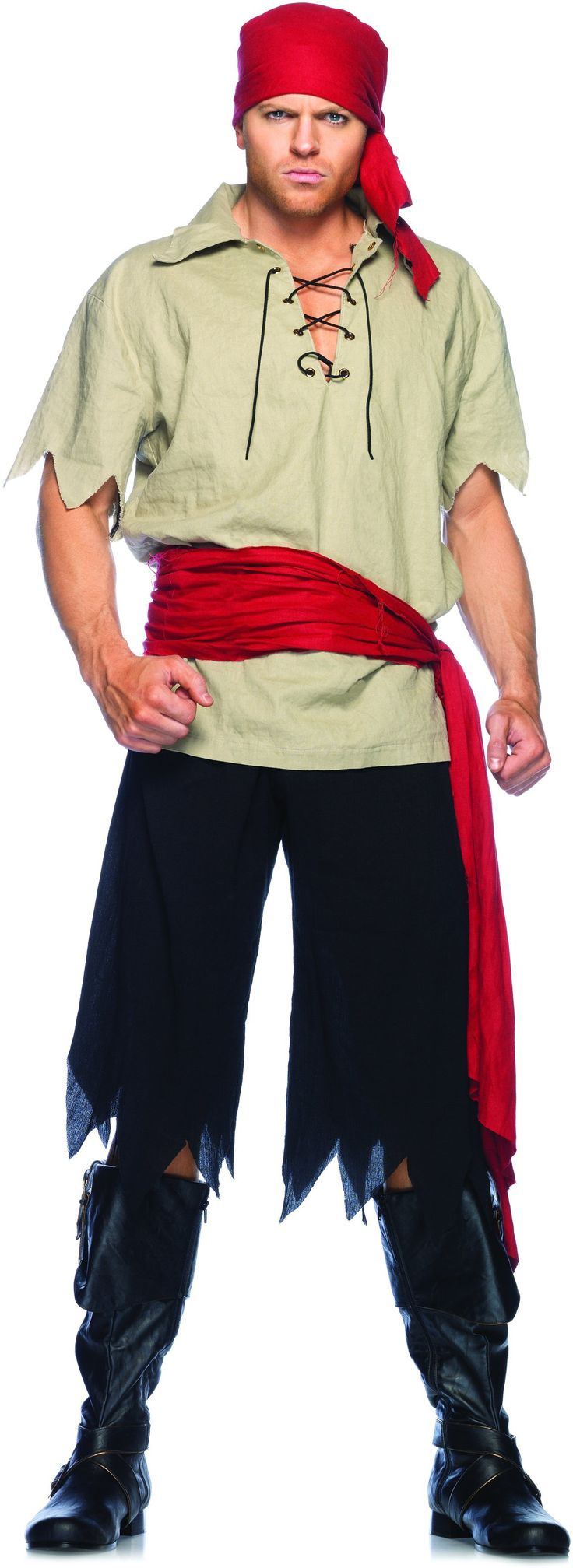 Cut Throat Pirate Adult Costume from BuyCostumes.com