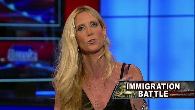 Ann Coulter is one crazy right-winger!