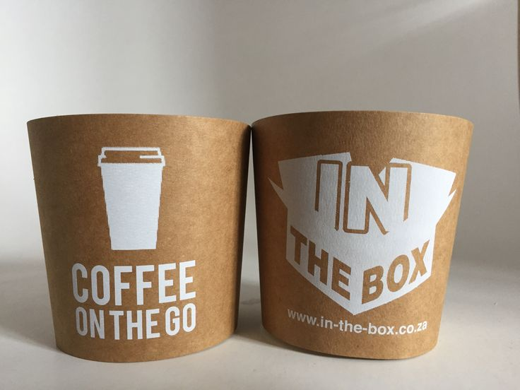 These are a brilliant example of our customizable coffee cup sleeves. Caffeine is so important to us, as is brand visibility. Some say our best ideas come to us while drinking coffee, so with your branded coffee sleeve around the coffee they're holding, perhaps their great idea will involve you!