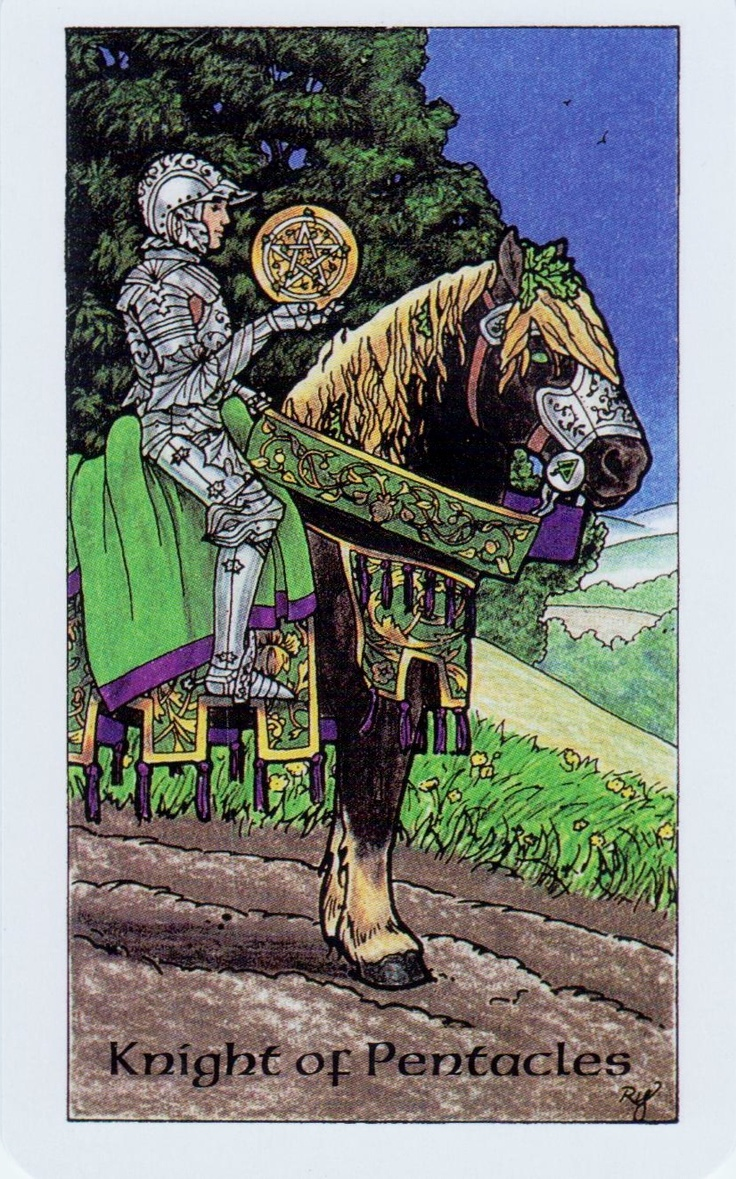 Tarot Knight Of Wands: 51 Best Images About Knight Of Pentacles On Pinterest
